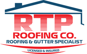 RTP Roofing Company Logo